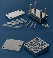 Picture for category ASTM D-395 Test Molds and Fixture