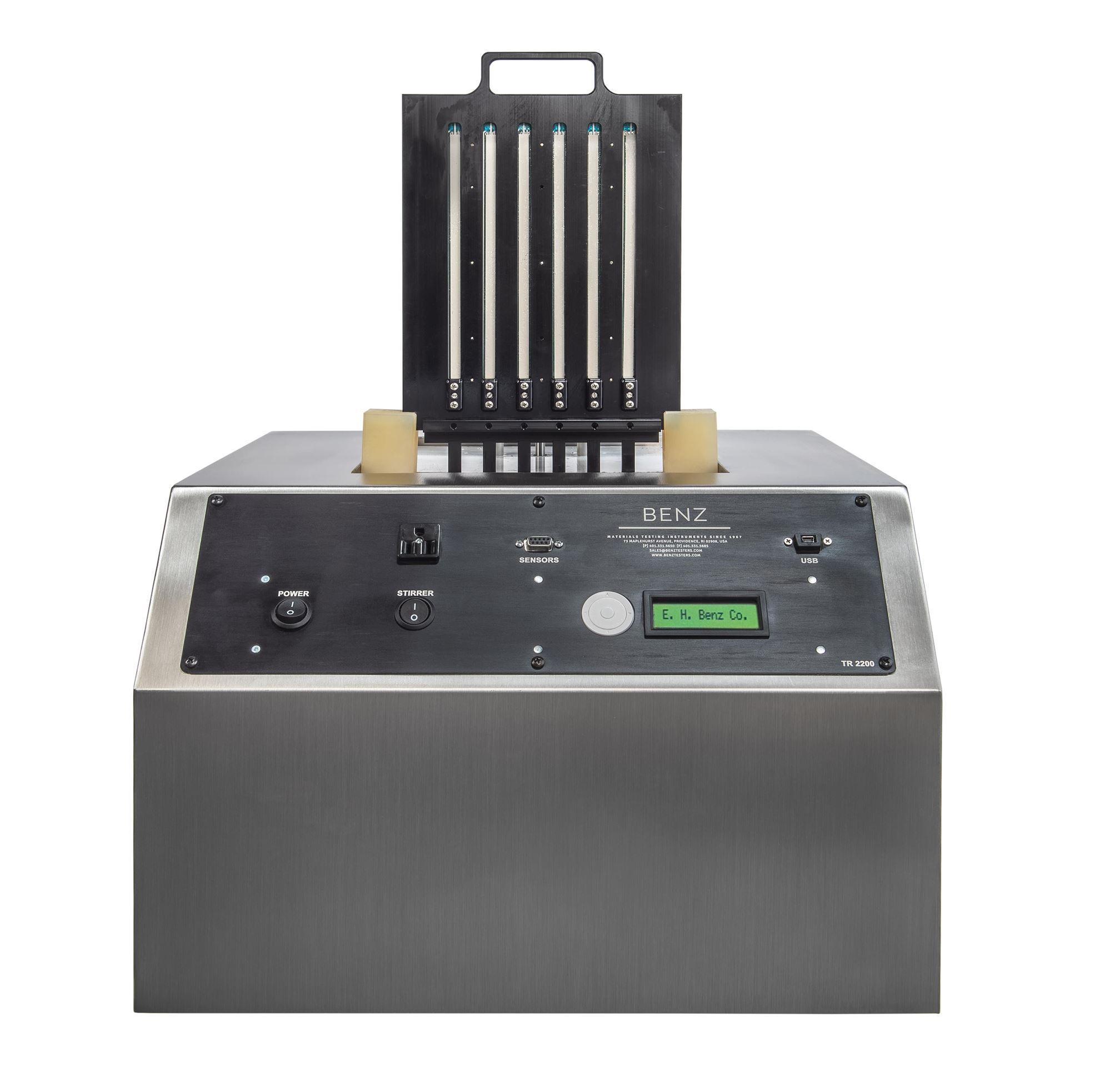1077, Model TR 2200 Temperature Retraction Testers